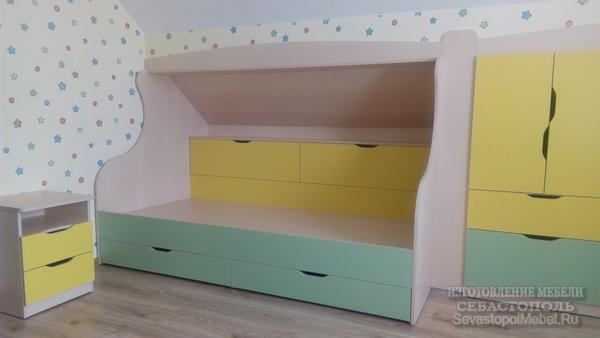 Изготовить детскую мебель на заказв городе севастополе..